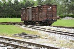 Παλαιά ατμομηχανές και βαγόνια εμπορευμάτων Στοκ φωτογραφίες με δικαίωμα ελεύθερης χρήσης
