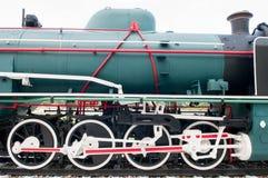 Παλαιά ατμομηχανή ατμού Στοκ Εικόνα