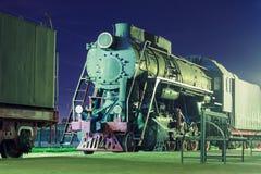 Παλαιά ατμομηχανή ατμού Στοκ Εικόνες