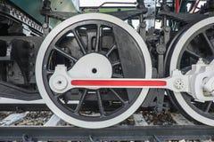Παλαιά ατμομηχανή στο σιδηροδρομικό σταθμό της Μπανγκόκ Noi, Ταϊλάνδη Στοκ εικόνα με δικαίωμα ελεύθερης χρήσης