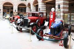 Παλαιά αυτοκίνητα στο μουσείο της Άγκυρας Koc Στοκ Φωτογραφία