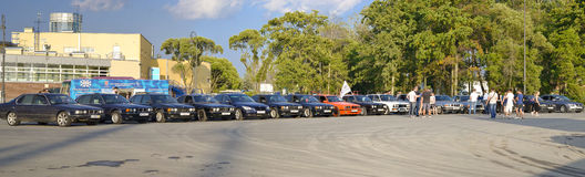 Παλαιά αυτοκίνητα BMW Στοκ Εικόνες
