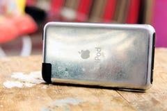 Παλαιά αφή μήλων ipod Στοκ φωτογραφία με δικαίωμα ελεύθερης χρήσης