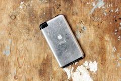 Παλαιά αφή μήλων ipod Στοκ εικόνα με δικαίωμα ελεύθερης χρήσης