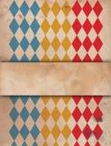 Παλαιά αφίσα τσίρκων Στοκ Φωτογραφίες