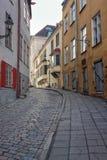 Παλαιά αλέα στην παλαιά πόλη του Ταλίν Στοκ φωτογραφία με δικαίωμα ελεύθερης χρήσης