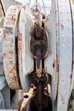 Παλαιά αλυσίδα ναυτικού Στοκ φωτογραφία με δικαίωμα ελεύθερης χρήσης