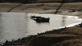 Παλαιά βάρκα ευρέως Στοκ Εικόνες