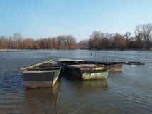 Παλαιά βάρκα τρία Στοκ φωτογραφία με δικαίωμα ελεύθερης χρήσης