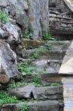 παλαιά βήματα Στοκ φωτογραφία με δικαίωμα ελεύθερης χρήσης