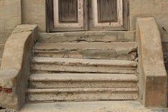 παλαιά βήματα Στοκ Φωτογραφία