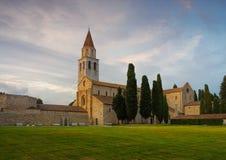 Παλαιά βασιλική Aquileia Στοκ εικόνες με δικαίωμα ελεύθερης χρήσης