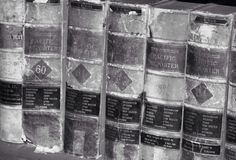 παλαιά βιβλία Στοκ Φωτογραφίες