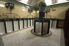 Παλαιά βικτοριανή αποβάθρα Σκωτία Rothesay τουαλετών αγγειοπλαστικής Στοκ Φωτογραφίες
