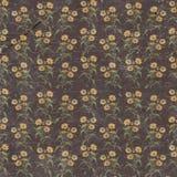 Παλαιά βρώμικη floral ταπετσαρία εγγράφου Στοκ εικόνες με δικαίωμα ελεύθερης χρήσης