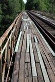 Παλαιά γέφυρα αναστολής Στοκ φωτογραφία με δικαίωμα ελεύθερης χρήσης