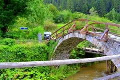 Παλαιά γέφυρα για πεζούς Στοκ Φωτογραφίες