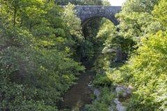Παλαιά γέφυρα πετρών, Γαλλία Στοκ φωτογραφία με δικαίωμα ελεύθερης χρήσης