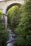 Παλαιά γέφυρα πετρών, Γαλλία Στοκ Εικόνα