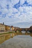 Παλαιά γέφυρα στη Φλωρεντία, Ιταλία Στοκ εικόνα με δικαίωμα ελεύθερης χρήσης