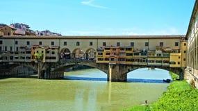 Παλαιά γέφυρα Φλωρεντία Ιταλία στοκ φωτογραφία με δικαίωμα ελεύθερης χρήσης