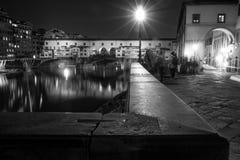 Παλαιά γέφυρα Φλωρεντία Στοκ φωτογραφία με δικαίωμα ελεύθερης χρήσης