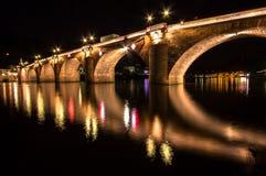 Παλαιά γέφυρα, Χαϋδελβέργη Στοκ εικόνες με δικαίωμα ελεύθερης χρήσης