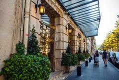 Παλαιά γαλλική παραδοσιακή αρχιτεκτονική Γαλλία Παρίσι Στοκ Φωτογραφία