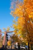 Παλαιά για τους πεζούς γέφυρα στοκ φωτογραφία με δικαίωμα ελεύθερης χρήσης