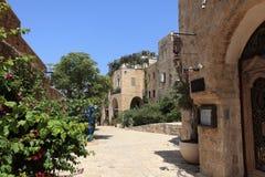 Παλαιά για τους πεζούς οδός Jaffa - Τελ Αβίβ, Ισραήλ Στοκ εικόνα με δικαίωμα ελεύθερης χρήσης