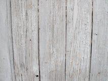Παλαιά γκρίζα ξύλινη επιφάνεια Στοκ εικόνα με δικαίωμα ελεύθερης χρήσης