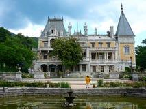 Παλαιά γοτθική κατοικία βασιλιάδων παλατιών κάστρων Στοκ Φωτογραφία