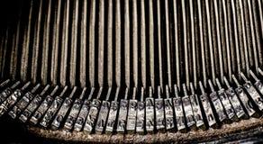 παλαιά γραφομηχανή πλήκτρ&omega Στοκ εικόνες με δικαίωμα ελεύθερης χρήσης
