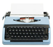 παλαιά γραφομηχανή Στοκ Φωτογραφίες