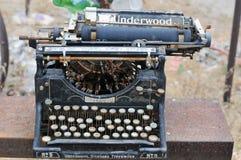 παλαιά γραφομηχανή στοκ εικόνες