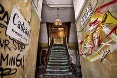 Παλαιά είσοδος μέσα Στοκ φωτογραφία με δικαίωμα ελεύθερης χρήσης