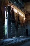 Παλαιά εγκαταλειμμένη εγκαταλειμμένη δομή εργοστασίων Στοκ φωτογραφίες με δικαίωμα ελεύθερης χρήσης