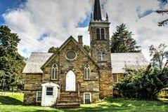 Παλαιά εγκαταλειμμένη εκκλησία στοκ εικόνα
