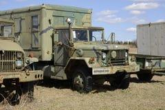 Παλαιό φορτηγό στρατού Στοκ Εικόνες