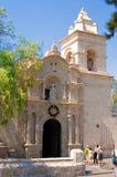 Παλαιά εκκλησία σε Arequipa, Περού, Νότια Αμερική Στοκ Φωτογραφίες