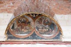 Παλαιά εκκλησία σε Arequipa, Περού, Νότια Αμερική Στοκ εικόνα με δικαίωμα ελεύθερης χρήσης