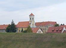 Παλαιά εκκλησία σε Varazdin στοκ εικόνες