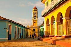 Παλαιά εκκλησία στην αποικιακή πόλη του Τρινιδάδ, Κούβα Στοκ φωτογραφίες με δικαίωμα ελεύθερης χρήσης