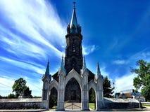Παλαιά εκκλησία στην πόλη στοκ εικόνα με δικαίωμα ελεύθερης χρήσης