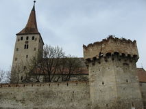 Παλαιά εκκλησία στη Ρουμανία †«Trasylvania 4 Στοκ Εικόνες