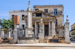 Παλαιά εκκλησία στο Λα Habana Vieja, Κούβα Στοκ Φωτογραφία