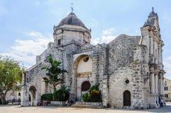 Παλαιά εκκλησία στο Λα Habana Vieja, Κούβα Στοκ εικόνα με δικαίωμα ελεύθερης χρήσης