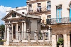 Παλαιά εκκλησία στο Λα Habana Vieja, Κούβα Στοκ εικόνες με δικαίωμα ελεύθερης χρήσης