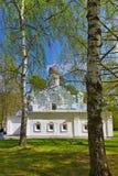 Παλαιά εκκλησία στο μουσείο-κτήμα Arkhangelskoye - Μόσχα Ρωσία Στοκ Εικόνα