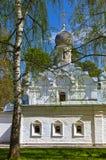 Παλαιά εκκλησία στο μουσείο-κτήμα Arkhangelskoye - Μόσχα Ρωσία Στοκ φωτογραφίες με δικαίωμα ελεύθερης χρήσης